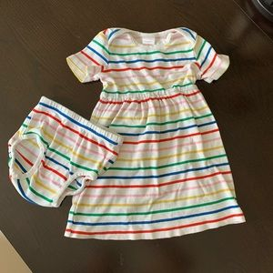 Hannah Anderson dress and bloomers